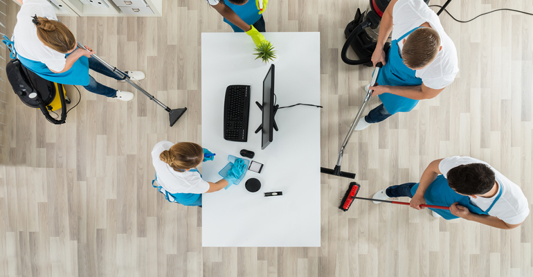 professional floor cleaning services in Melville, NY